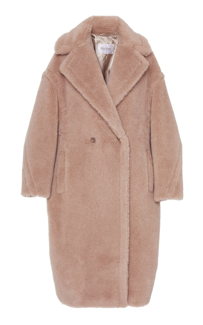 Tedgirl Oversized Alpaca and Wool-Blend Coat
