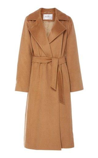 Manuela Belted Camel Hair Coat
