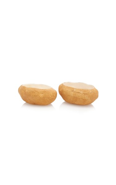Set-of-Two Ceramic Potato Bowls