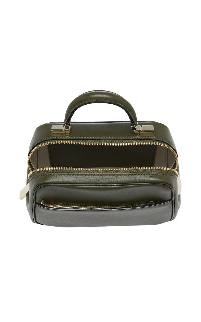 Serie S Mini Glossy Leather Bag