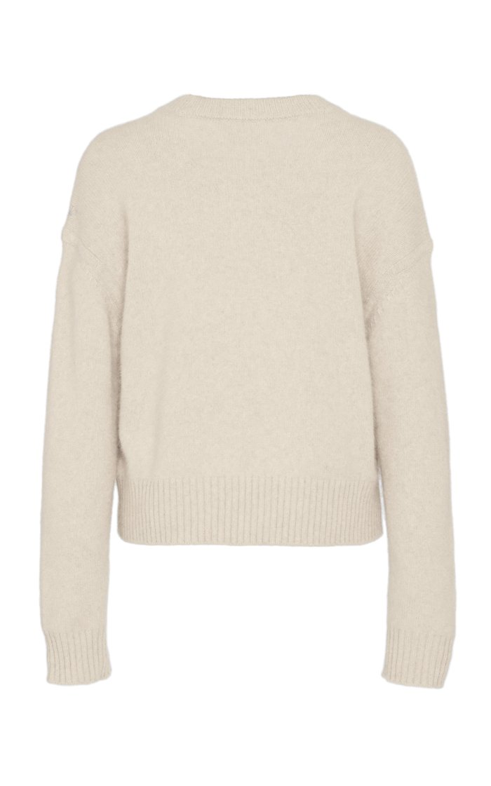 Felce Rib-Trimmed Crew-Neck Sweater