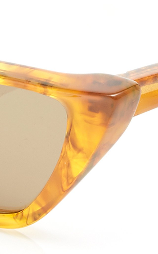 Fawn Cat-Eye Acetate Sunglasses
