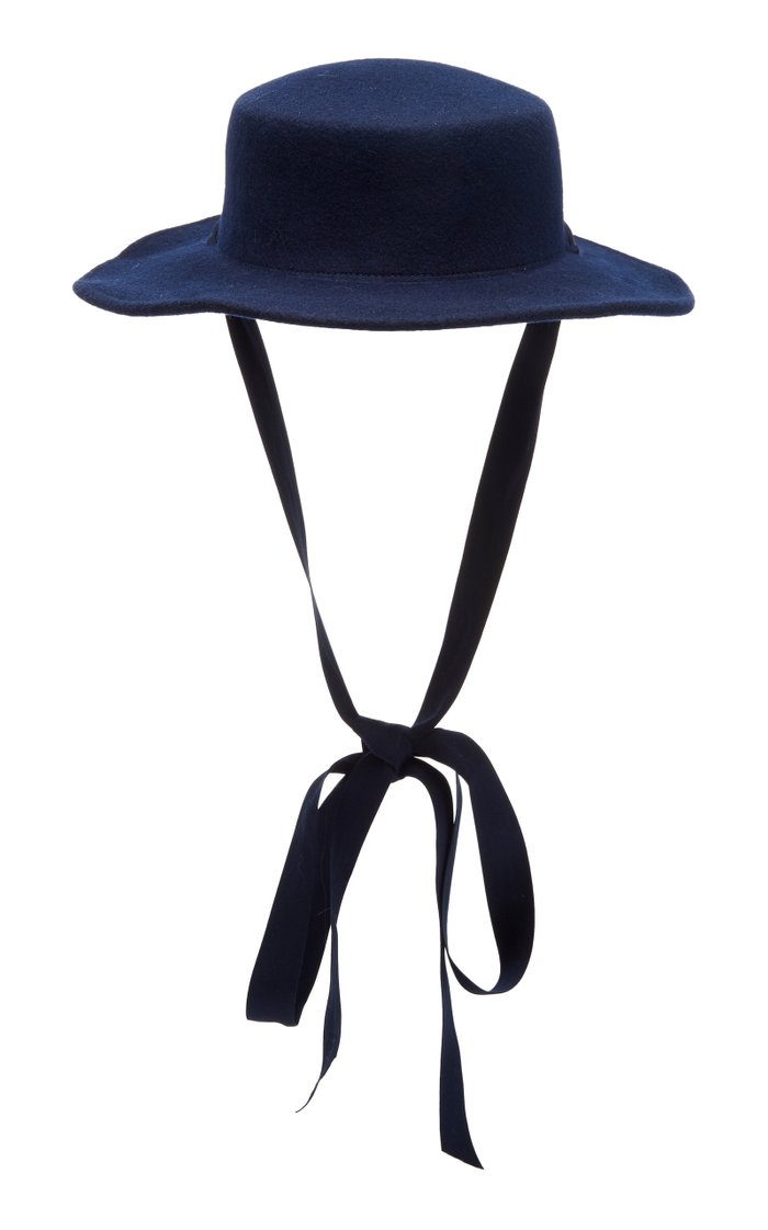 Pearl Wool-Felt Hat