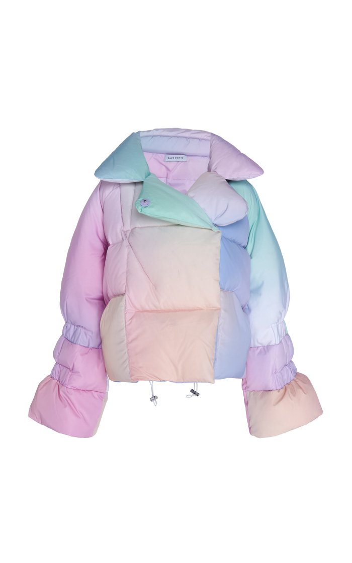 Star Printed Puffer Jacket