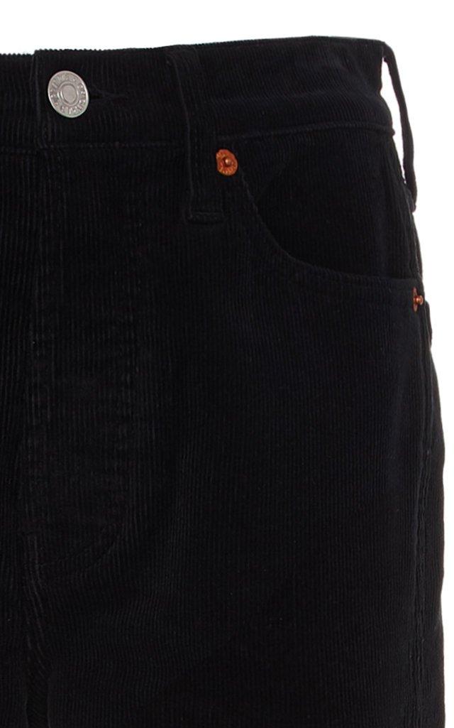 Double Needle Slim-Leg Jeans