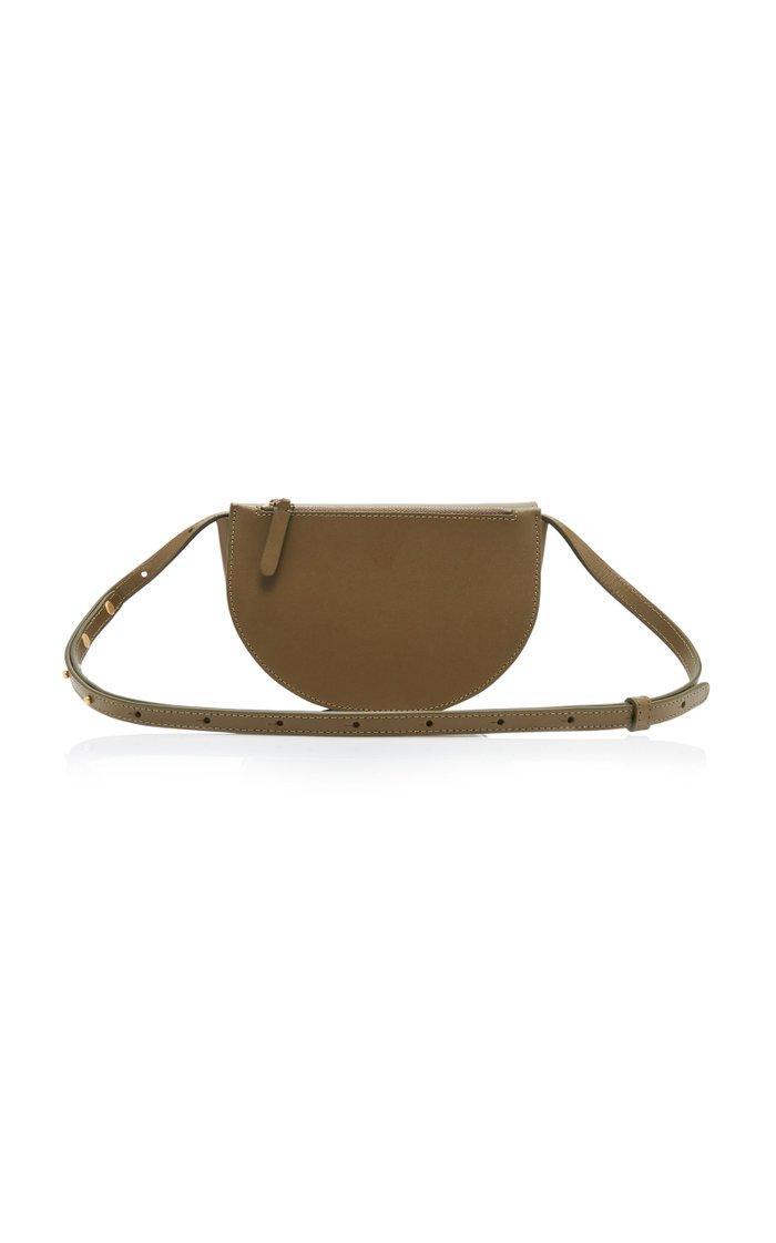 Anna Large Leather Belt Bag