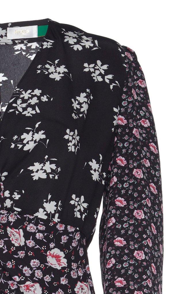 Chelsea Silk Midi Dress With Slit