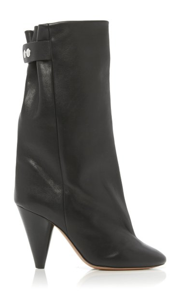Lakfee Leather Ankle Boots