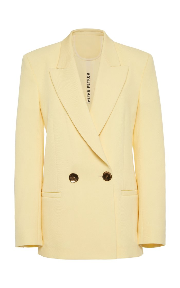 Single Breasted Crepe Blazer