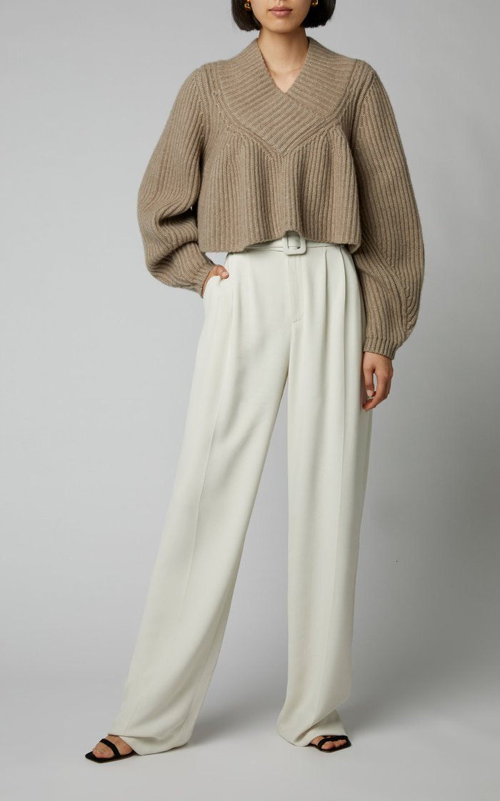 Ivy Cropped Cashmere Sweater