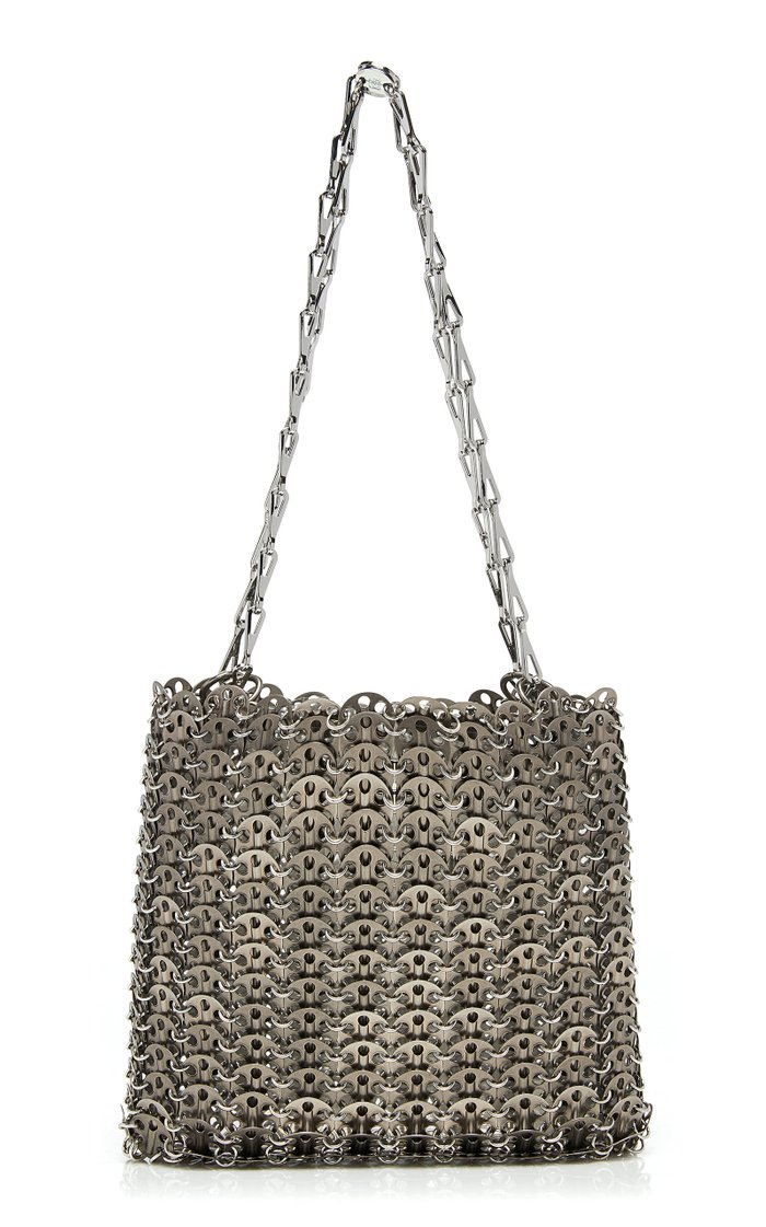 Iconic 69 Brass Chain Mail Bag