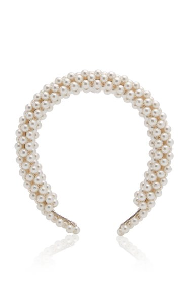 Antonia Faux Pearl Headband