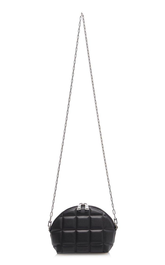 Padded Leather Mini Bag