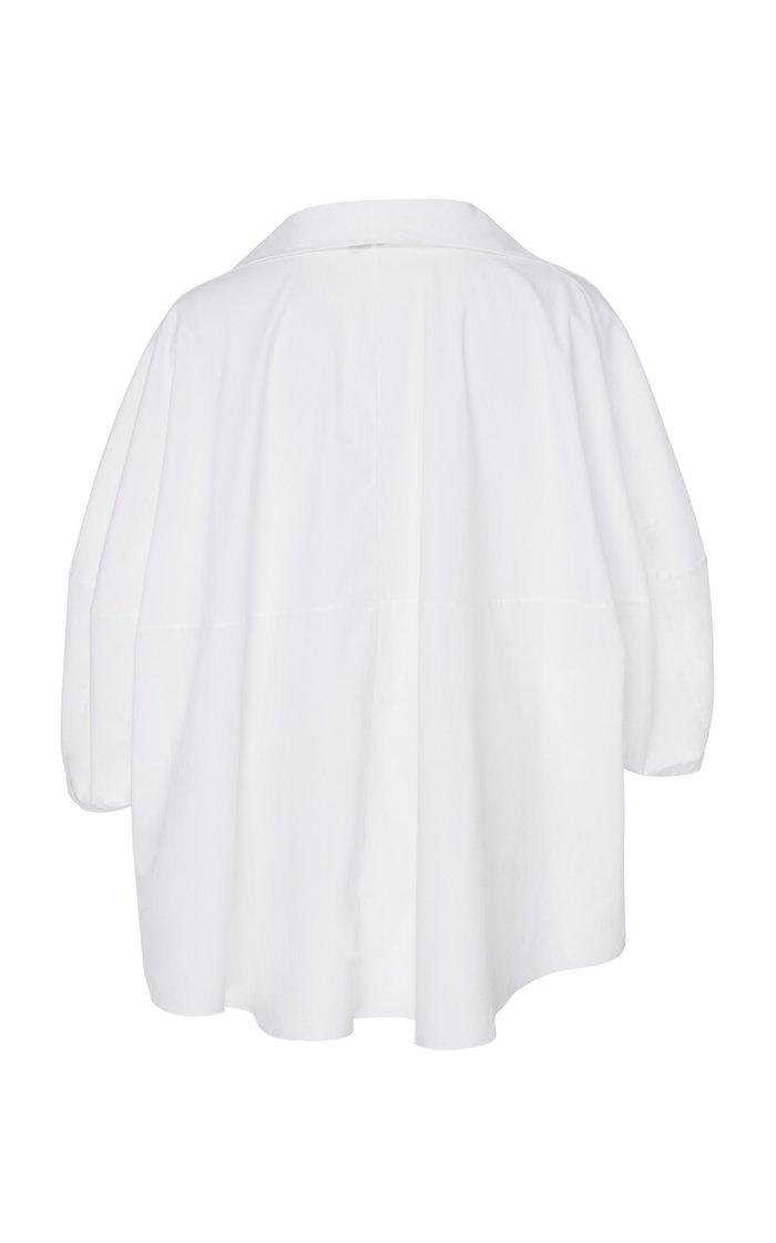 Last Oversized Cotton-Poplin Shirt