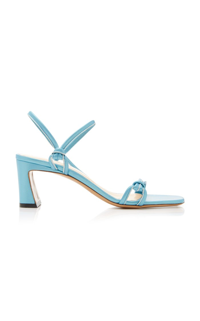 Charlie Leather Slingback Sandals