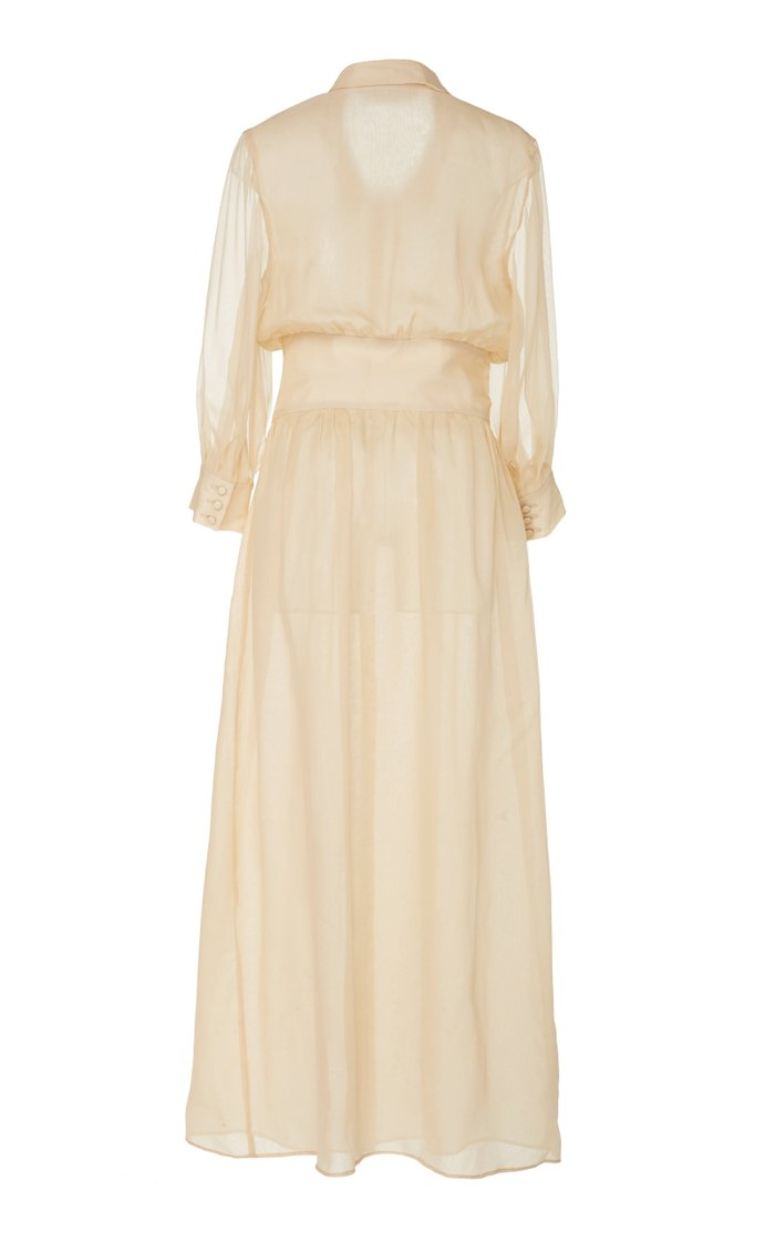 Karen Organza Maxi Dress