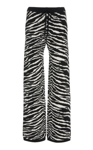 Daphne Wool And Cashmere-Blend Knit Pants