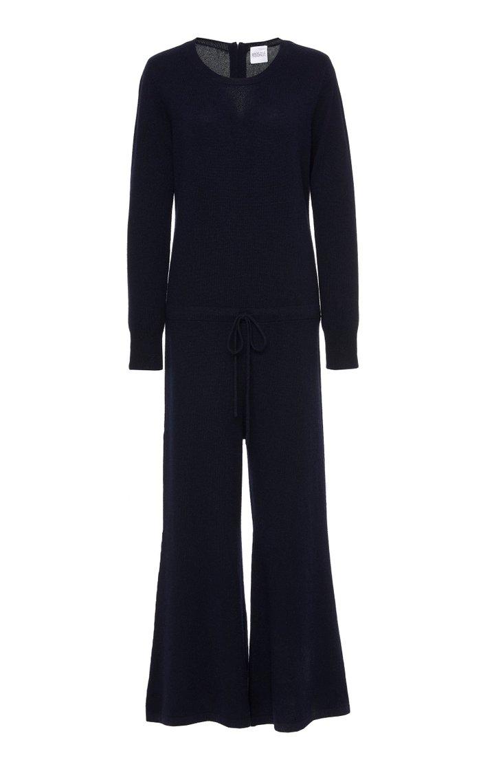 Sebastien Knit Cashmere Jumpsuit