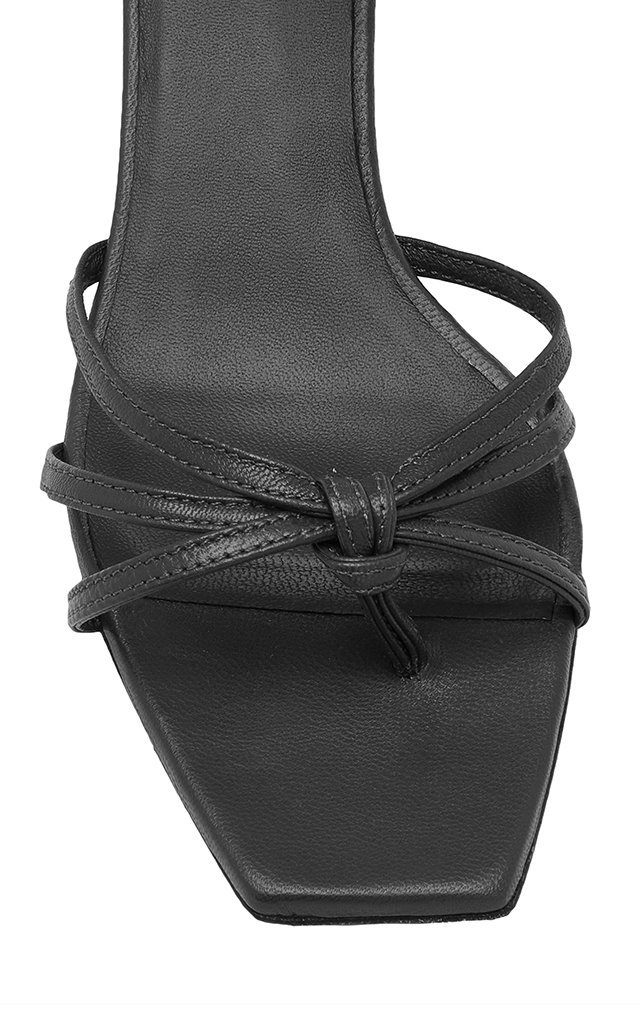 Lace-Up Leather Sandals