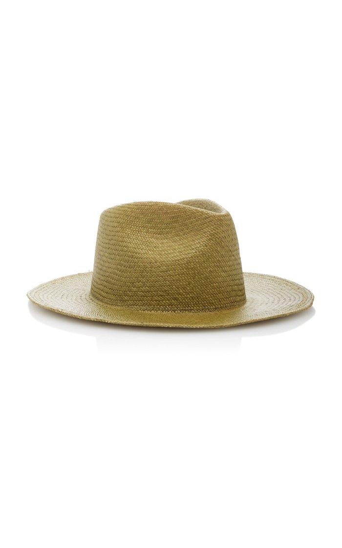 PBLA Wide-Brim Straw Hat