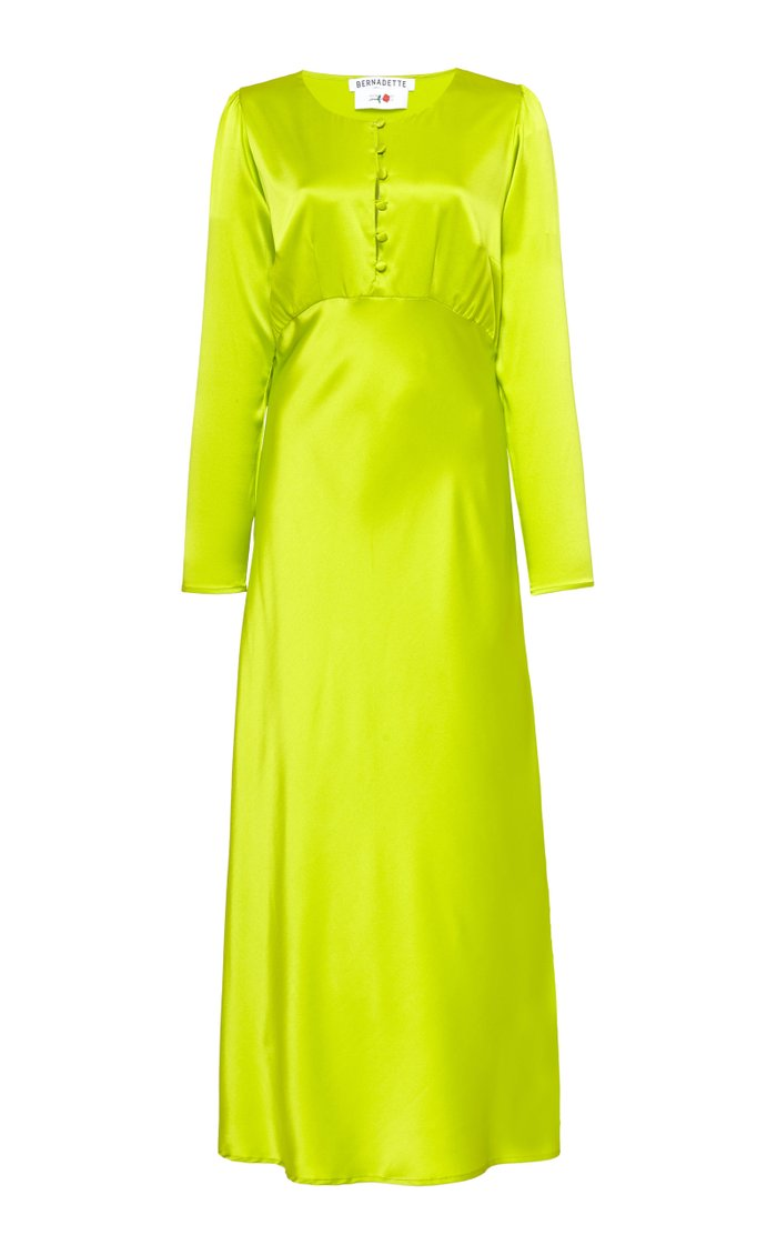 Florence Silk Bias Dress