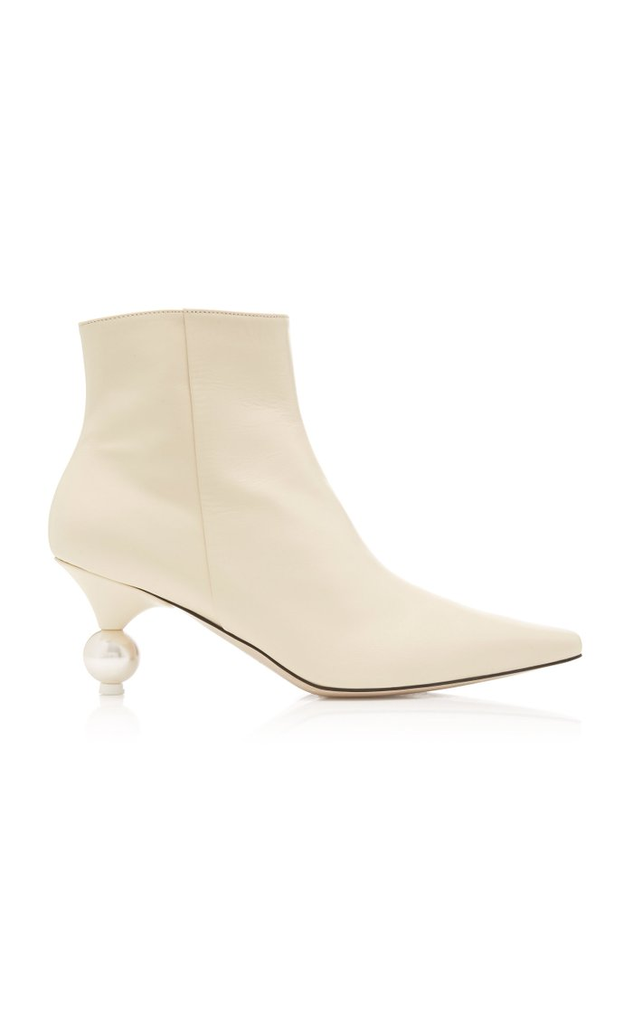 Exclusive Martina Leather Ankle Boots