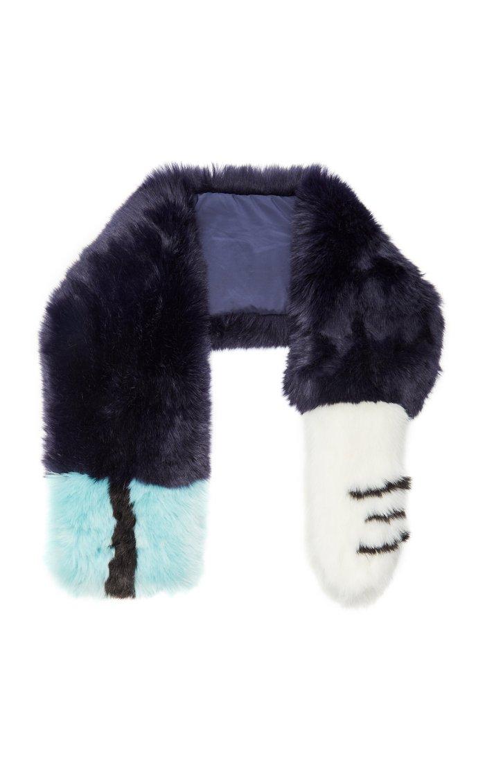 Exclusive Casey Faux Fur Stole