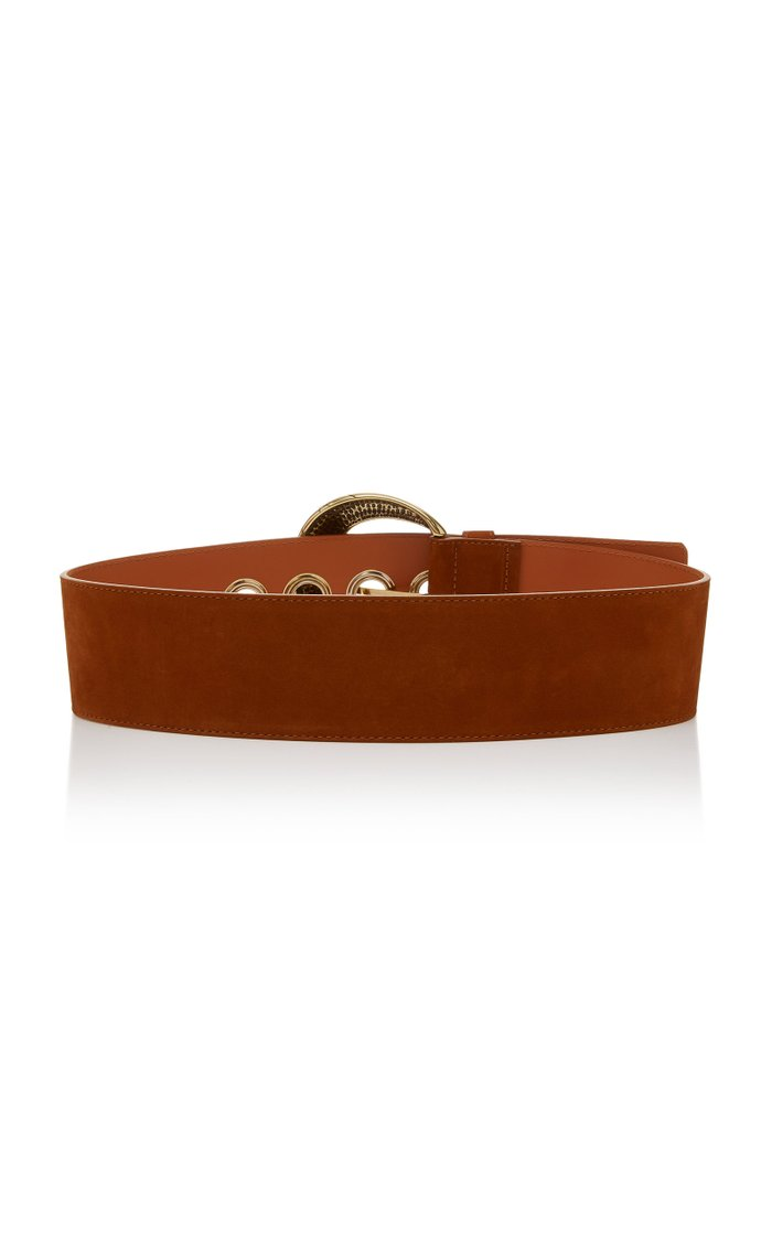 Nubuck Leather Belt