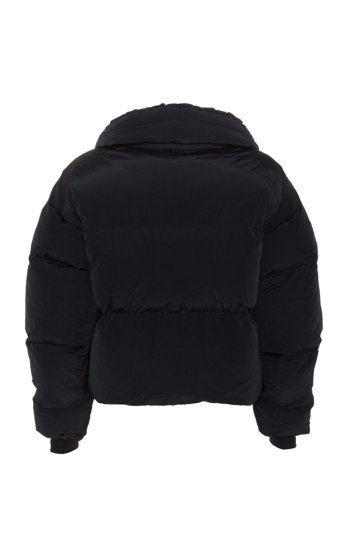 Mont Blanc Quilted Shell Down Bomber Jacket