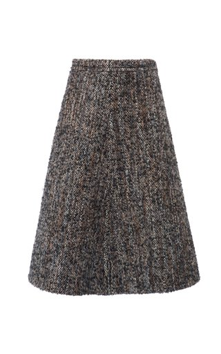 Bouclé-Tweed Skirt