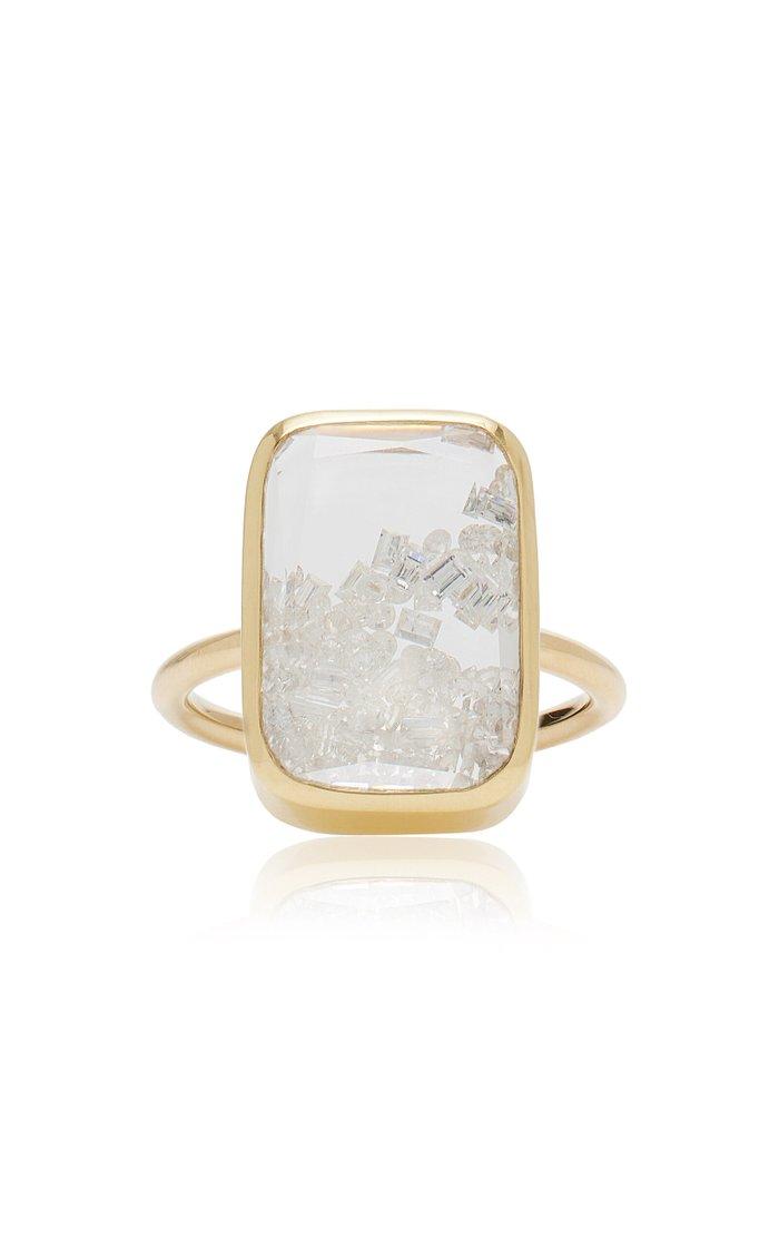 Diamond Kaleidoscope Shaker Ring