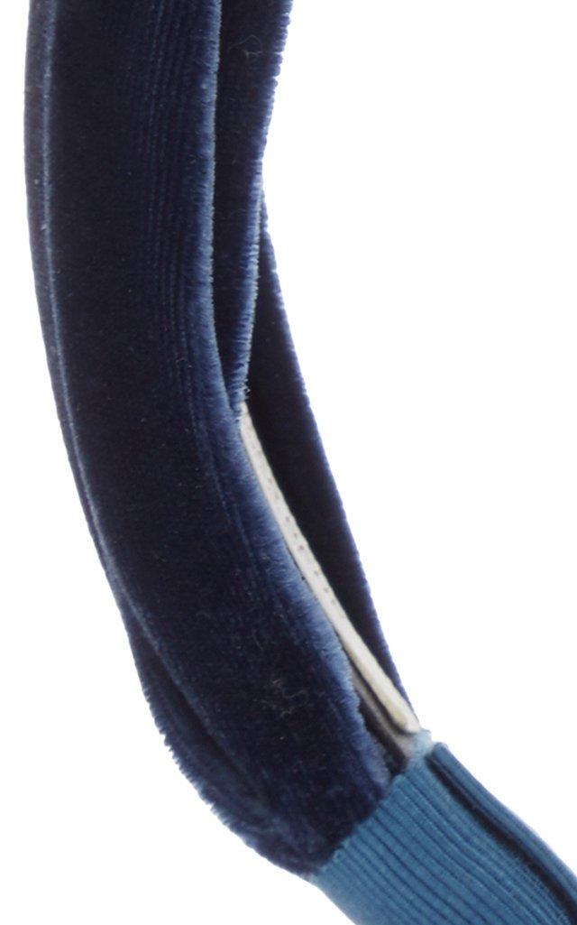 Ophelia Knotted Velvet Headband