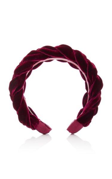 Lorelei Braided Velvet Headband
