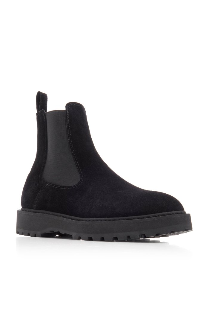 Alberone Suede Chelsea Boots