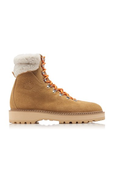 Moda Exclusive Monfumo Shearling Hiking Boots