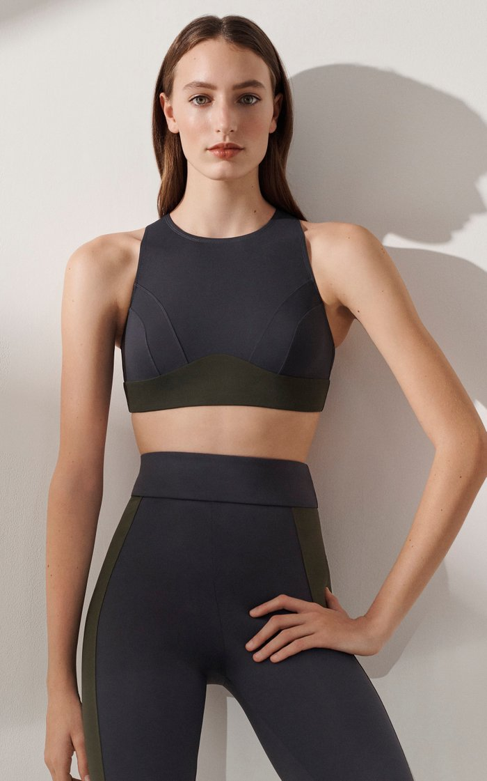 Celine High Neck Sports Bra