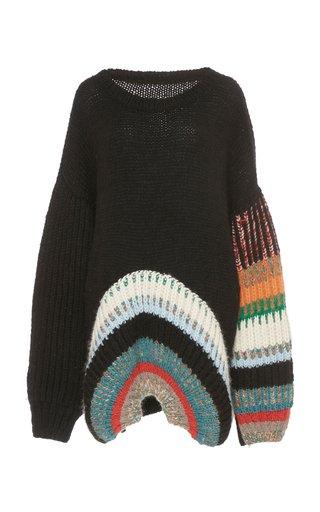 Wool-Blend Oversized Sweater