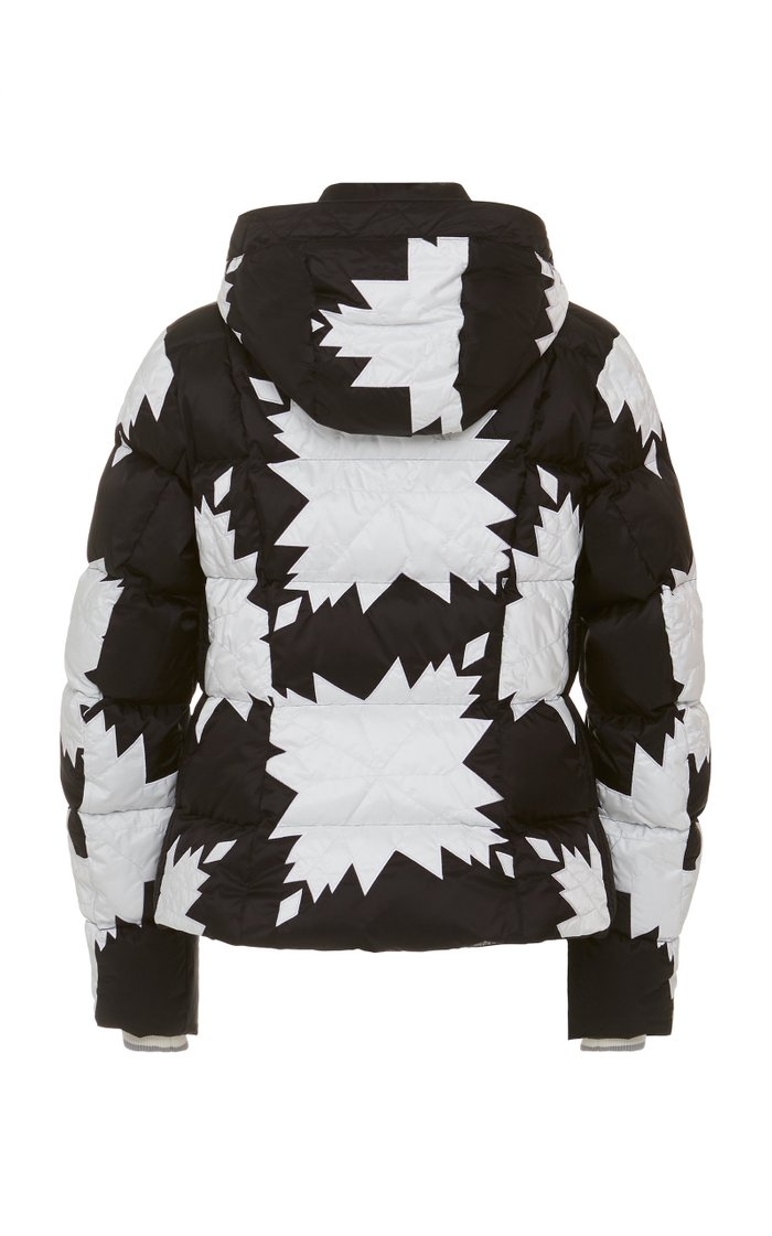 Dana Quilted Printed Shell Jacket