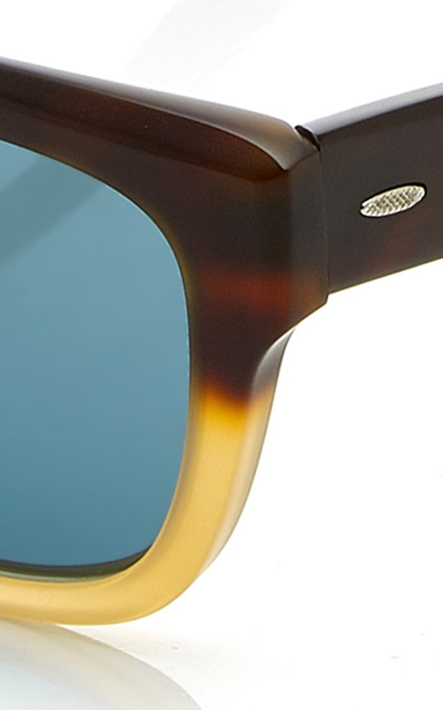 Stax Two-Tone Acetate Sunglasses