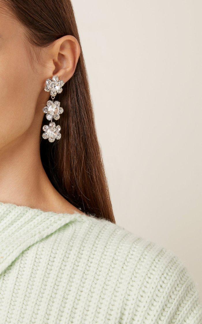 Gwenda Dangling Flower Earring