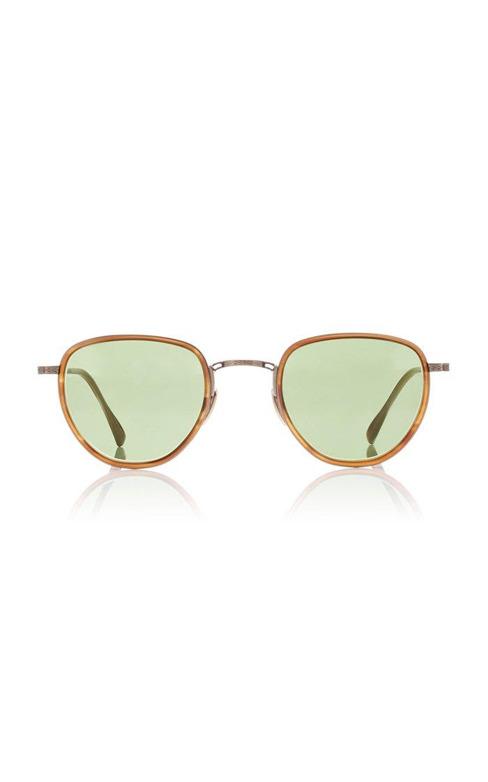 Roku S 47 Acetate Round-Frame Sunglasses