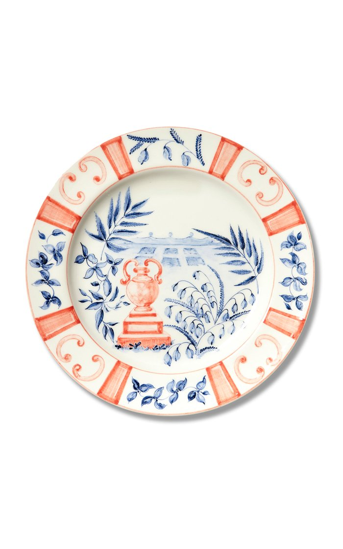 Set Of 6 Italian Views Dessert Plate