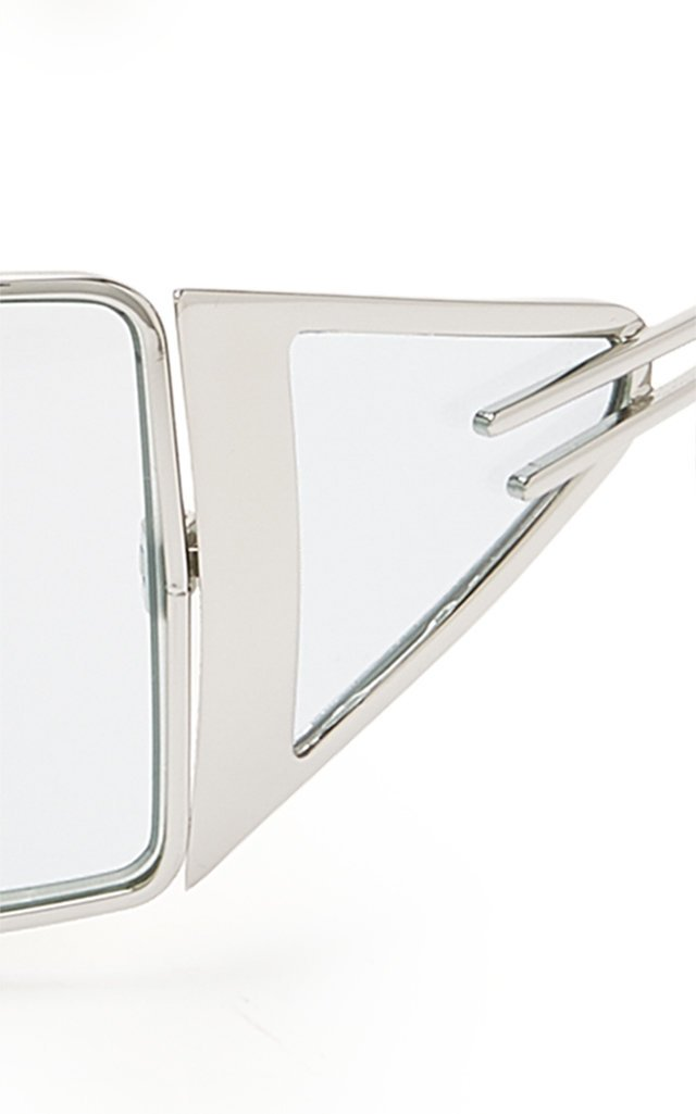 The Luxx Metal Square-Frame Sunglasses