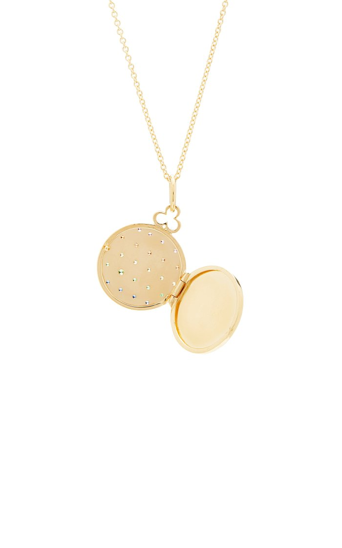 18K Gold And Multi-Stone Necklace