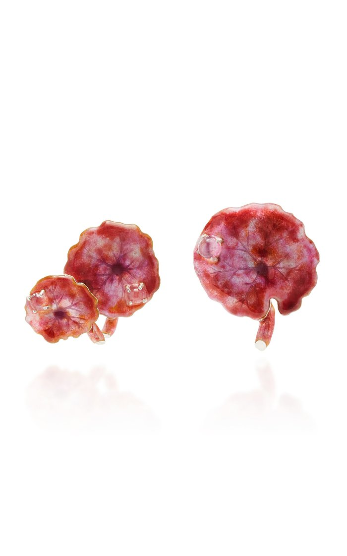Pink Navelwort Earrings