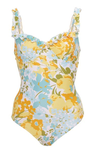 Hilda Floral-Print One-Piece Swimsuit