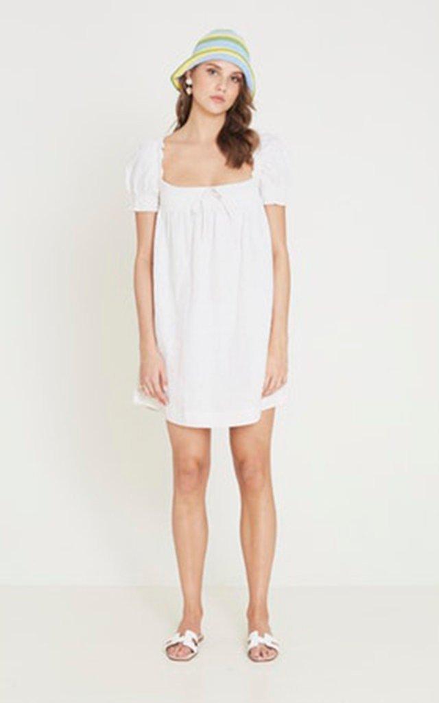 Cherie Linen Mini Dress