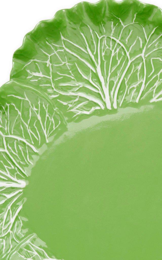 Lettuce Ware Oval Serving Platter