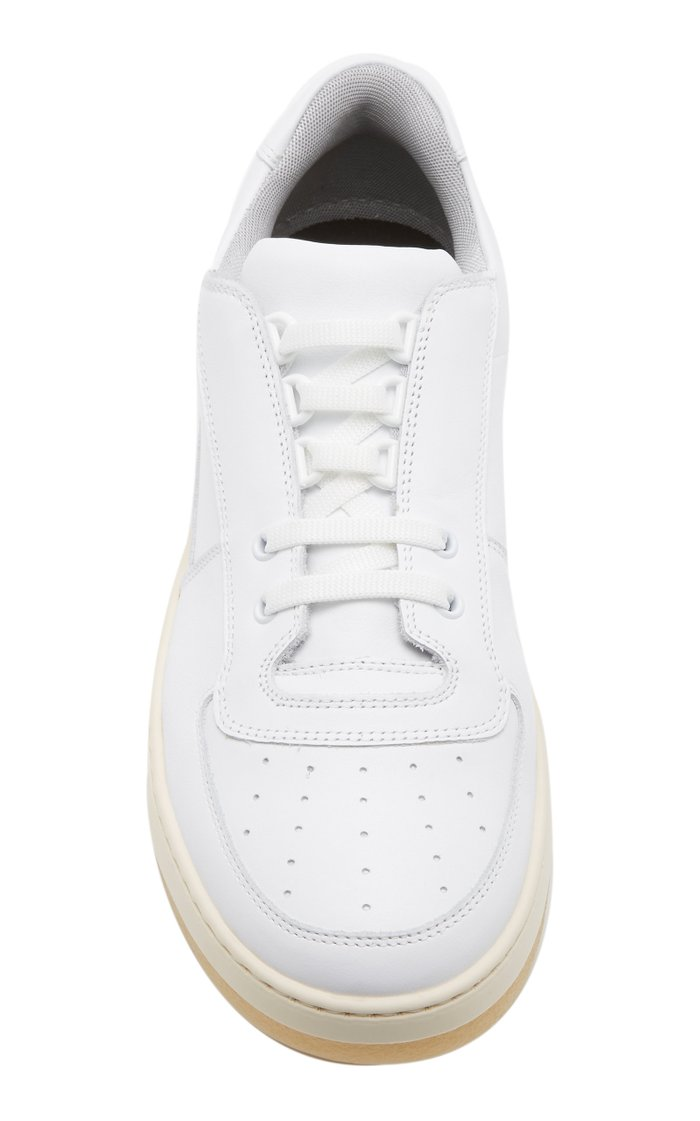 Perey Lace-Up Leather Sneakers