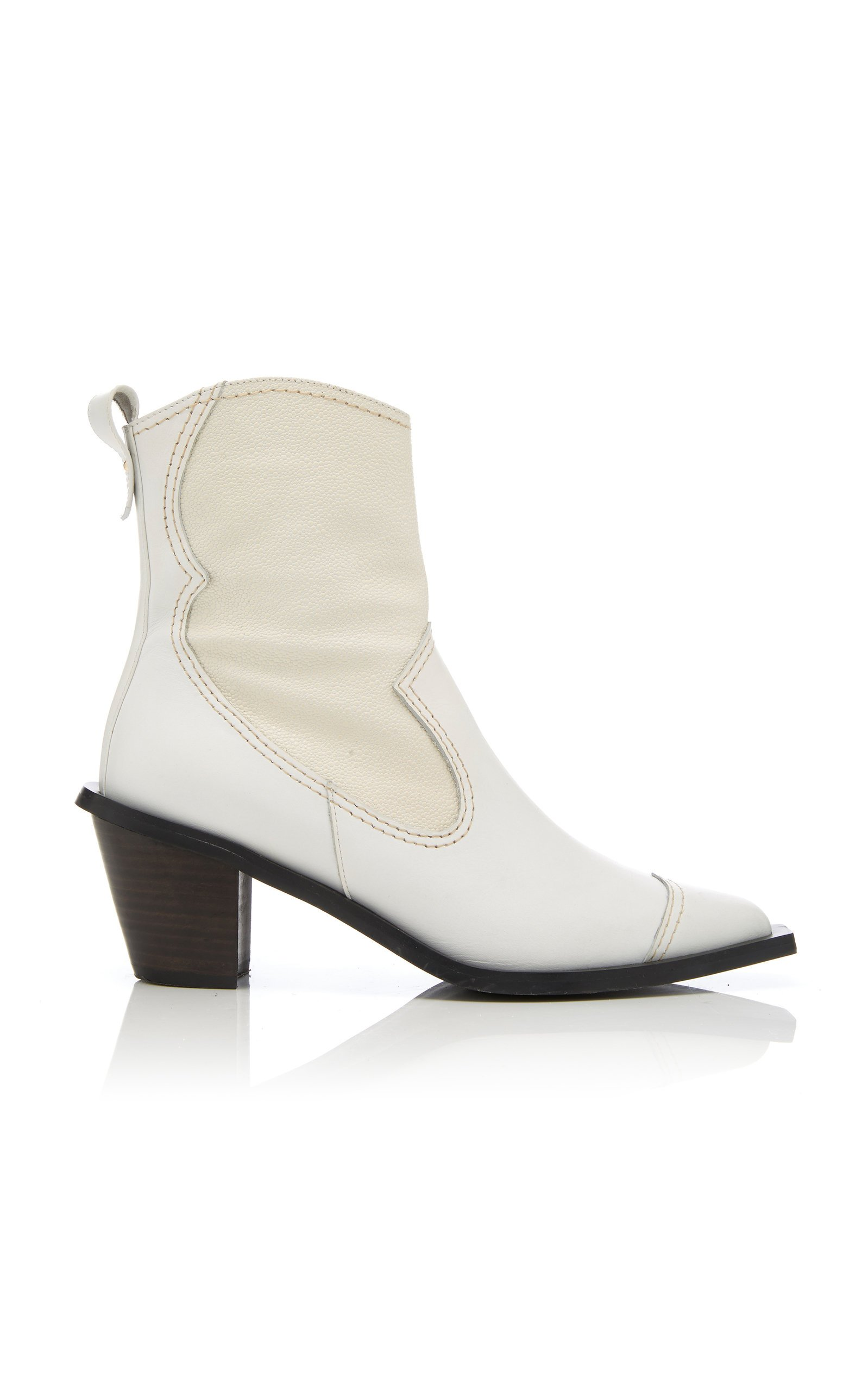 Western Leather Boots By Reike Nen